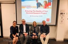 Fomentan programa de desarrollo para investigadores vietnamitas