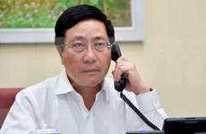 Vicepremier vietnamita sostiene conversaciones telefónicas con Tony Blair