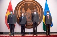 Ruanda desea impulsar las relaciones de amistad con Vietnam