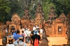 Disminución de turistas extranjeros en Camboya debido a COVID-19