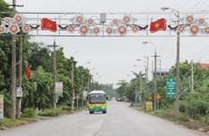 Lap Thach trabaja para convertirse en un polo industrial en la provincia vietnamita de Vinh Phuc