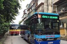 Hanoi aspira a incrementar la cobertura de autobuses