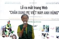 Lanzan sitio web con más de dos mil retratos de las Madres Heroicas Vietnamitas