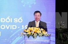 Discuten en Vietnam transformación digital y superación del impacto de COVID-19