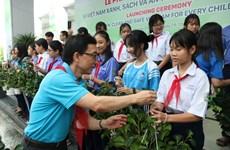 Niños en Ciudad Ho Chi Minh por proteger medio ambiente