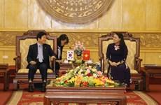 Aspira dirigente surcoreano ampliar relaciones comerciales con provincia vietnamita de Ninh Binh