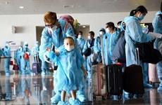 Vietnamitas repatriados de Rusia completan período de cuarentena por COVID-19