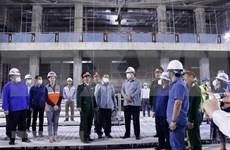 Revisan construcción de sede de la Asamblea Nacional de Laos
