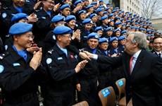 Vietnam reafirma apoyo a actividades del matenimiento de paz