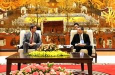 Hanoi aprecia el apoyo del BAD en desarrollo de infraestructura urbana