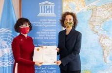 Vietnam y UNESCO por promover la cooperación bilateral