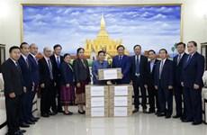 Vietnam apoya a Laos en la lucha contra el COVID-19