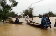 Telegramas internacionales expresan condolencias por damnificados en el centro de Vietnam