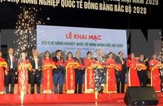 Inauguran Feria de Agricultura Internacional en provincia vietnamita de Thai Binh