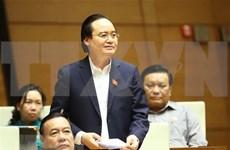 Aclaran dudas sobre costo para despliegue del nuevo programa de educación general en Vietnam