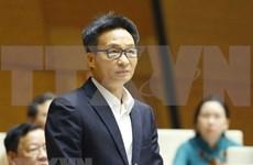 Vicepremier vietnamita responde preguntas sobre la labor preventiva contra COVID-19