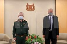 Efectúan Vietnam y Singapur diálogo sobre políticas de defensa