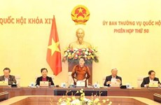 Sesiona 50 reunión del Comité Permanente del Parlamento de Vietnam