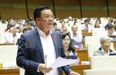 Ministro de Finanzas de Vietnam aclara dudas de diputados sobre asuntos presupuestarios