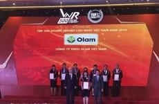 Anuncian lista de 500 mayores empresas de Vietnam en 2020