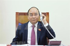 Premier vietnamita mantiene conversación telefónica con su homólogo laosiano