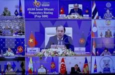 Efectúan reuniones de ministros de Relaciones Exteriores y de Economía de la ASEAN