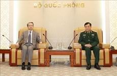 Viceministro de Defensa de Vietnam recibe al embajador chino