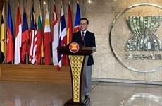Aceleran la complementación de documentos a presentarse en 37 Cumbre de ASEAN