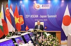 Efectúan XXIII Cumbre ASEAN-Japón