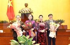 Parlamento vietnamita avala designación de ministros y gobernador del Banco Estatal