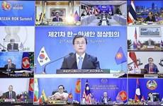 ASEAN fortalecen la asociación estratégica con Corea del Sur y la India
