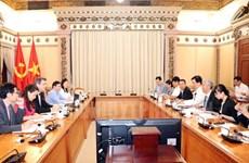 Ciudad Ho Chi Minh fomenta cooperación con Banco Asiático para el Desarrollo