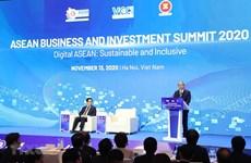 Premier vietnamita exhorta a esfuerzos conjuntos de empresas para recuperación económica regional