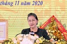 Presidenta del Parlamento participa en Festival de Gran Unidad Nacional en provincia de Yen Bai