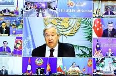 La asociación integral ASEAN-ONU se fortalece más que nunca, valora António Guterres
