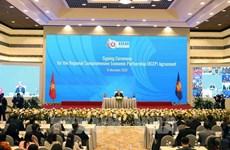 Aprecian Tailandia y Singapur la firma del acuerdo de RCEP