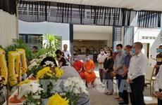 Víctimas vietnamitas del accidente de tránsito en Camboya regresan a la Patria
