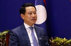 Laos aprecia contribución de Vietnam a la ASEAN