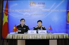 Inauguran reunión en línea del Grupo de Trabajo de Altos Funcionarios de Defensa de ASEAN