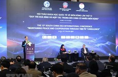 Inauguran duodécimo seminario internacional sobre el Mar del Este