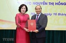 Nombran la primera mujer gobernadora del Banco Estatal de Vietnam