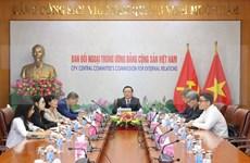 Destaca Vietnam relaciones con organizaciones políticas de Alemania