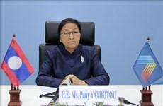 Asamblea Nacional de Laos de la VIII legislatura clausuró su décimo periodo de sesiones