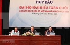Efectuarán segundo Congreso nacional de minorías étnicas de Vietnam