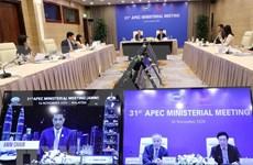 APEC llama a consolidar la comunidad económica de Asia-Pacífico