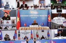 Mantienen solidaridad y prestigio de ASEAN en cooperación multilateral de defensa