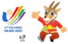 Premian a ganadores del concurso de logotipo y mascota de eventos deportivos del Sudeste Asiático