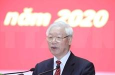 Aplaude máximo dirigente de Vietnam preparativos del XIII Congreso Nacional del PCV