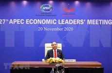 Inauguran 27° Cumbre del Foro APEC