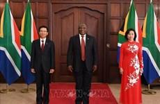 Presenta cartas credenciales embajador de Vietnam en Sudáfrica